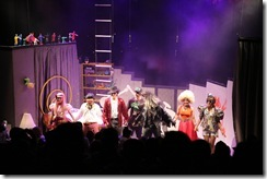 Encenação da peça