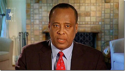 "Michael Jackson personal physician Conrad Murray speaks in video statement...Dr. Conrad Murray, personal physician for Michael Jackson, speaks in a video posted on YouTube by his attorneys August 18, 2009. Murray states in his first public statement since Jackson died June 25, ""I have told the truth and the truth will prevail."" REUTERS/Courtesy Law Firm Stradley,Chernoff &Alford/Handout (UNITED STATES CRIME LAW ENTERTAINMENT) NO SALES. NO ARCHIVES. FOR EDITORIAL USE ONLY. NOT FOR SALE FOR MARKETING OR ADVERTISING CAMPAIGNS"