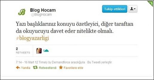 Serdar Kara'nın Tweeti