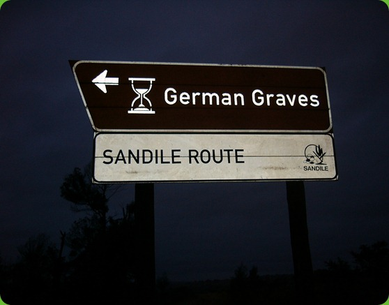 German Graves Signboard, Frankfort Eastern Cape