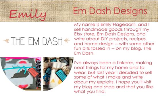Em Dash Designs