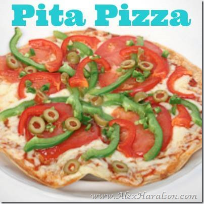 pita pizza makes 1 serving ½ whole wheat pita whole