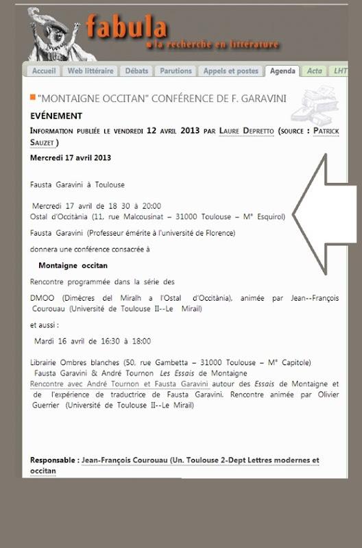 Fabula Universitat Montaigne Conferéncia