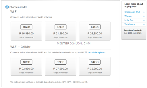 iPad mini Price Philippines