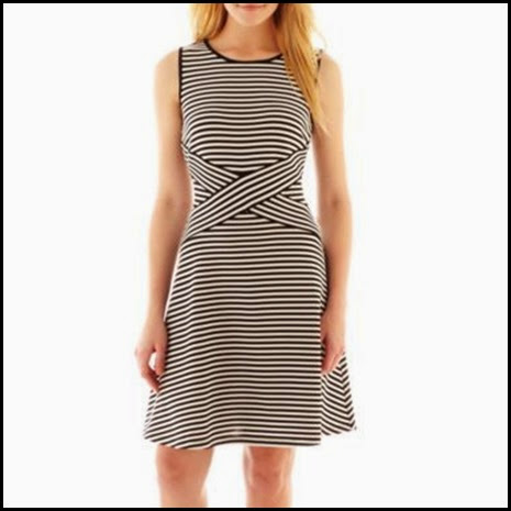 Trulli dress black and white