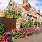 Lindisfarne village