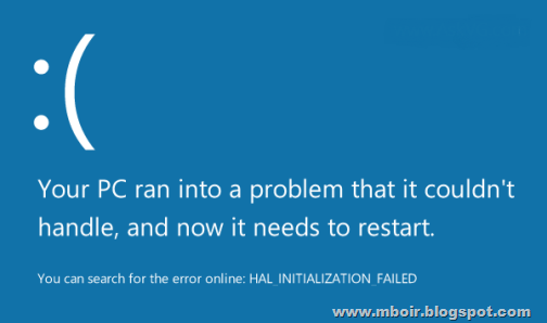 Windows 8 BSOD - mboir