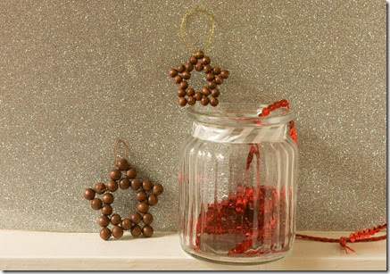 Christmas Beaded Stars Ornaments Tutorial