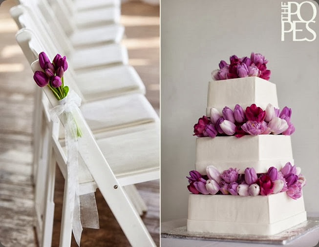 tulips Morfeys_cake_artistry_Bella_Rugosa_flowers_modern_purple_white_wedding  the popes photo