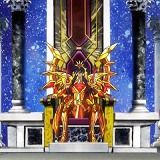 Crítica del Diseño del dios Saturno, para Saint Seiya Omega