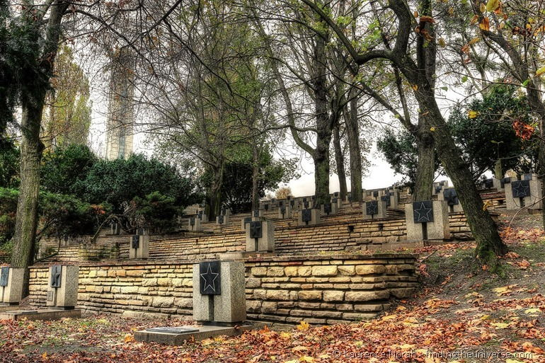 Soldatenfriedhof in Posen, Polen