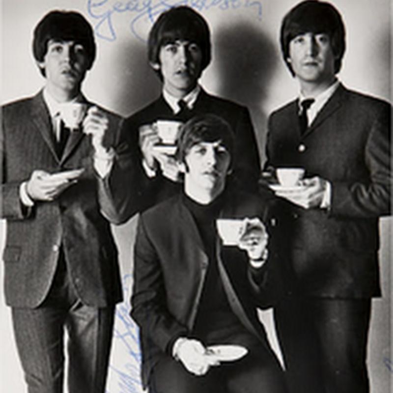 Colección de fotografías de The Beatles