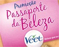 Promocao Passaporte da Beleza Veet Reckitt Benckiser