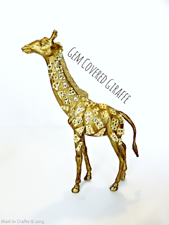 Gem Covered Giraffe
