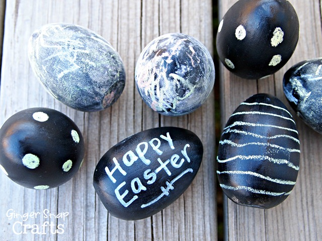 #chalkboard Easter eggs