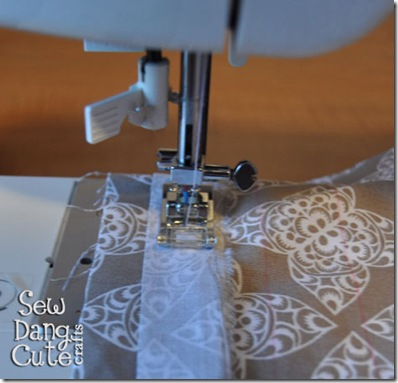 Sew-down-middle-of-strips