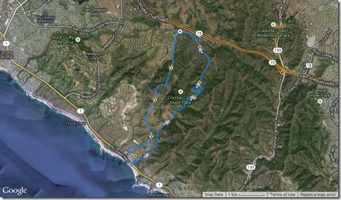 Running No Name, No Dogs, Morro Cyn, Slow & Easy, Bommer Ridge 3-6-2014