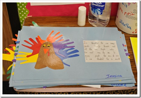 Thanksgiving Threw Up In My Classroom
