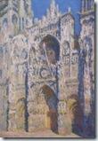 0616 tableau de Monet La Cathédrale de Rouen