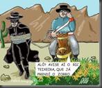 Sargento prendeu o Zorro