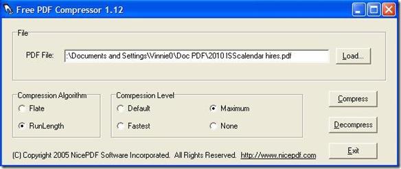 Comprimere PDF Free PDF Compressor
