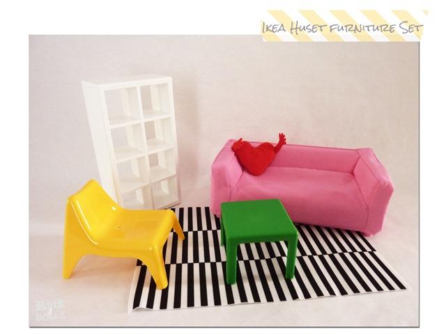 Muebles miniatura Huset Ikea 02