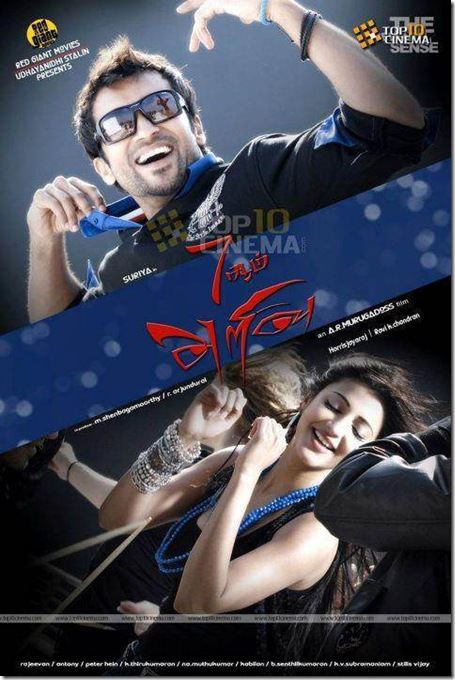 surya shruti hassan 7am arivu
