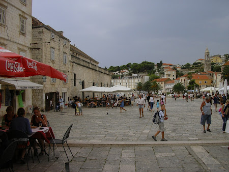 Sights of Dalmatian coast: Hvar center