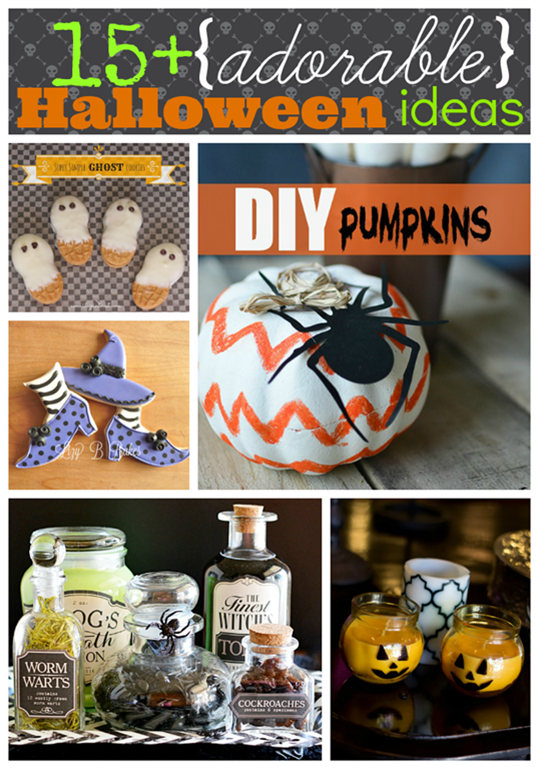 over 15 adorable #Halloween ideas #gingersnapcrafts #linkparty #features_thumb[2]