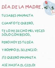 Poema día de la madre 2009