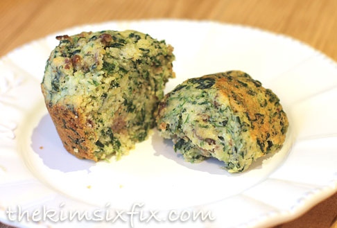 Spinach cornbread