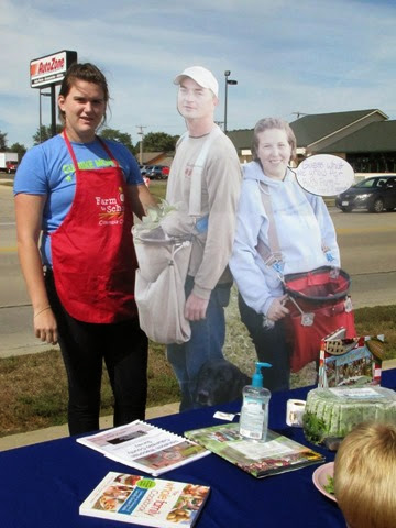farm to school cardboard cutout