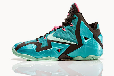 nike lebron 11 gr south beach 4 04 NIKE LEBRON 11 South Beach Remixes Past With Present