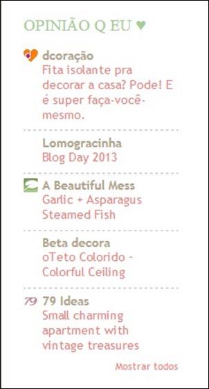 Lista de blogs legais