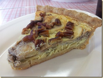 Apple Pecan Custard Pie