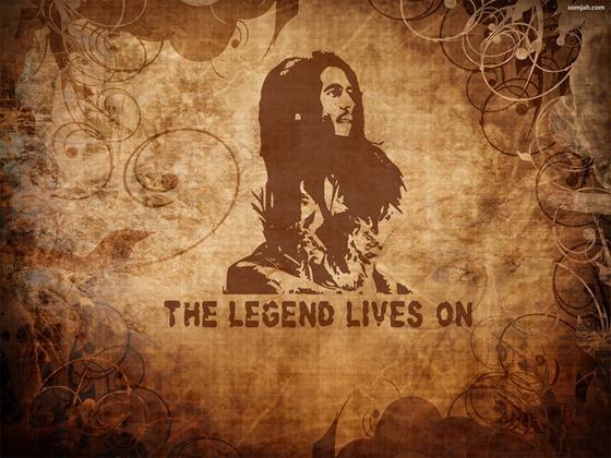 papel de parede reggae Bob Marley 05