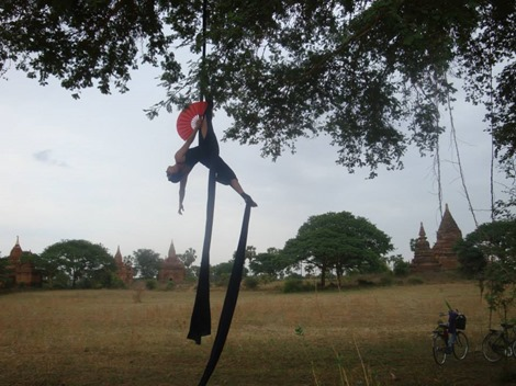 Hanging about in beautiful Bagan