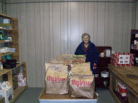 Food drop off in Sigourney