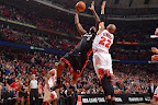 lebron james nba 130510 mia at chi 16 game 3 Heat Outlast Bulls in Physical Game 3 to Lead the Series 2 1