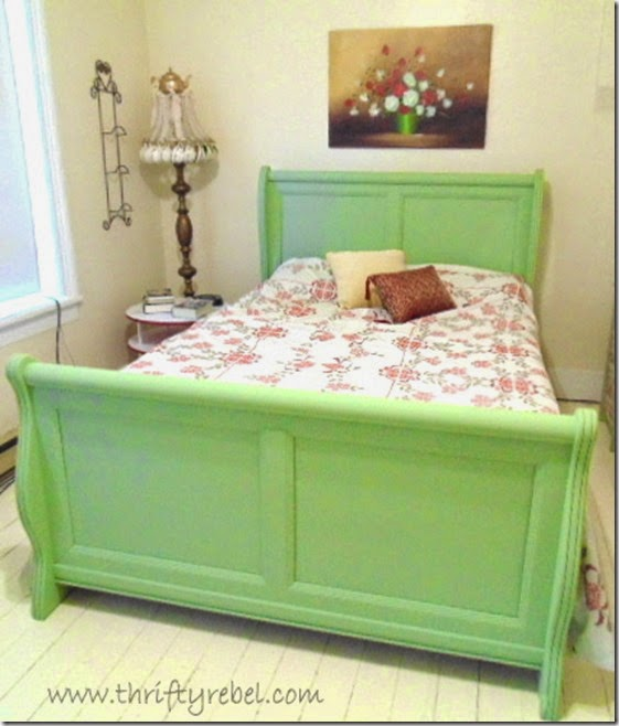 sleigh bed after 1