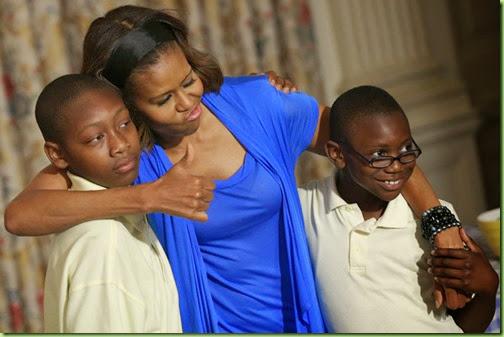 Michelle Obama Michelle Obama Harvests Crops Iv8PqjVv3rPl