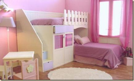 decoracion de dormitorio de bebe niña