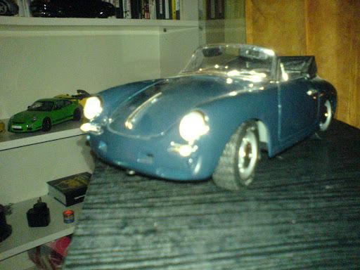 porsche 356b cabrio -bburago