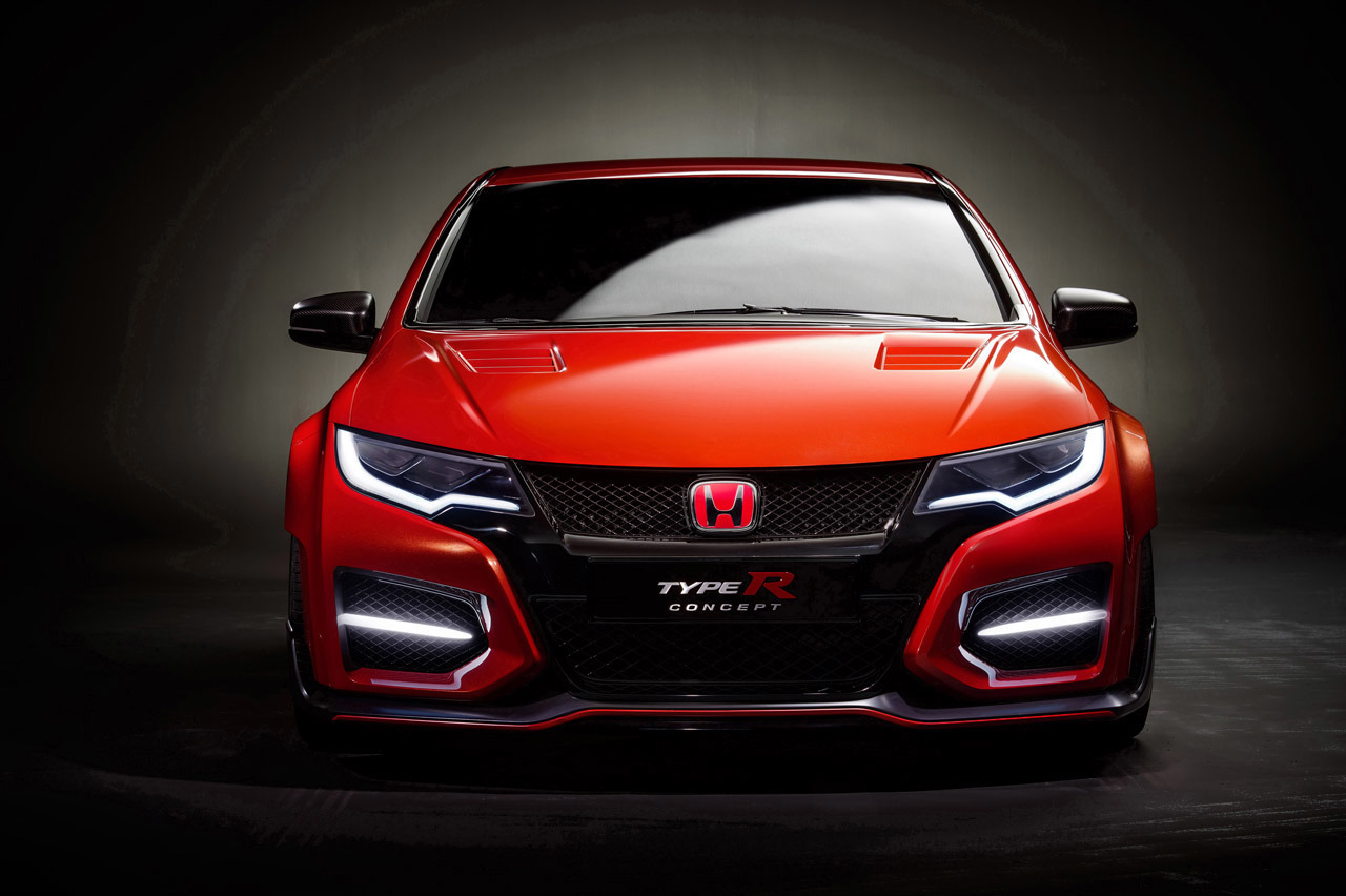 2014 honda civic type r concept cenevre 39 yi is t yor. Black Bedroom Furniture Sets. Home Design Ideas