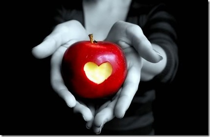 Healthy Heart with Apples