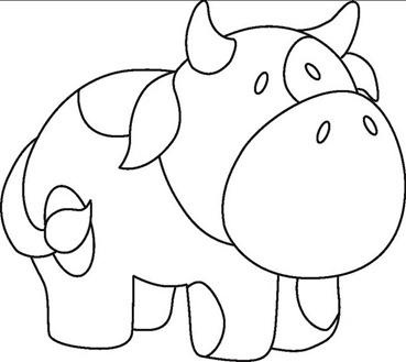 risco-patchaplique-patchwork-desenho-vaca