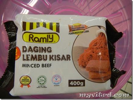 Ramly Daging Lembu Kisar