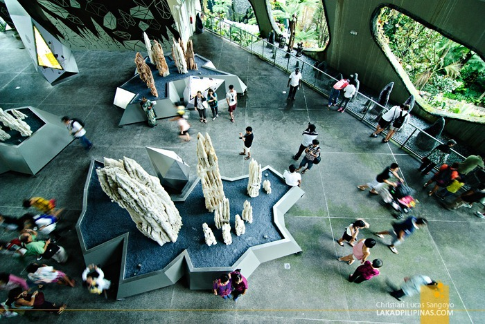 Cloud Forest's Crystal Mountain at Gardens by the Bay