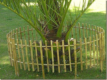 Decoración de Jardines con Cañas1