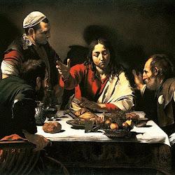 48 - Caravaggio - Cena en casa de Emaus